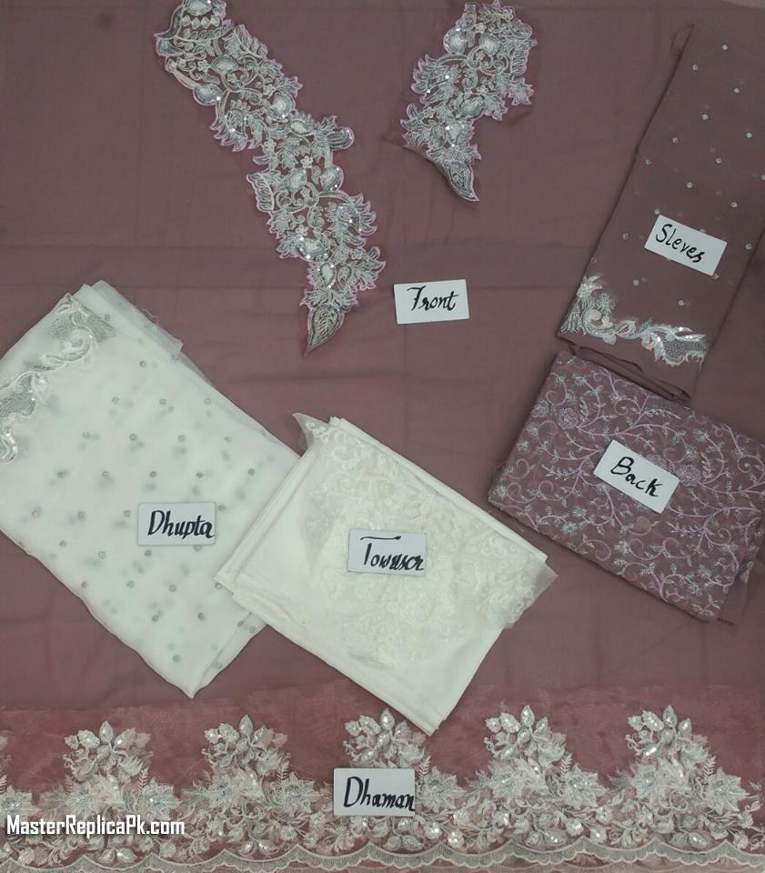 Zainab Chottani Formal Lilac Net Cap